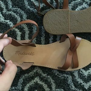 Madewell Boardwalk Sandals Brand New ! NWOT!