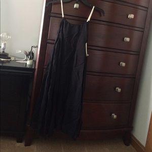 Moon River Summer Dress Dillard's Black Gauze