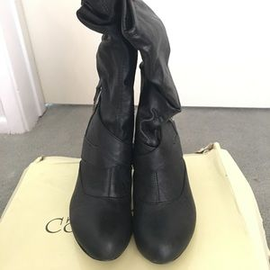 Cathy Jean Boots, Size: 5, Color: Black