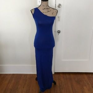 Forever 21 Royal Blue Maxi Dress