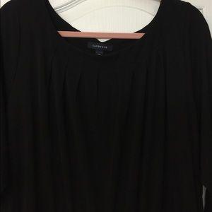 Ponte black dress