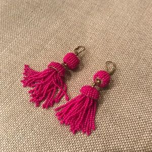 Beaded Tassel Earrings!