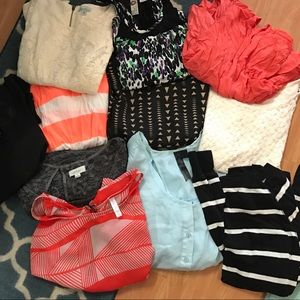 Fun casual top bundle! $1 each! 11 shirts for 11$!