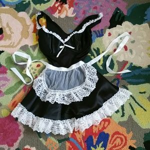 French Maid Halloween Costume XS