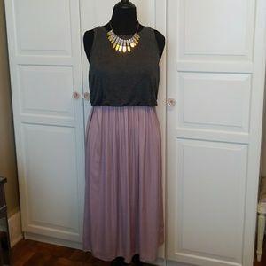 Ann Taylor Loft midi dress