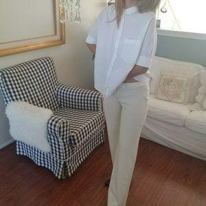 SOLD - Express white work pants