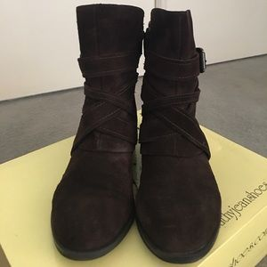 Cathy Jean Boots, Size: 5, Color: Brown