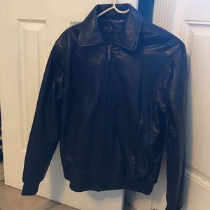 Ladies leather Moto jacket