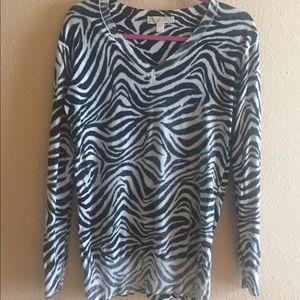 Michael Kors Zebra Sweater