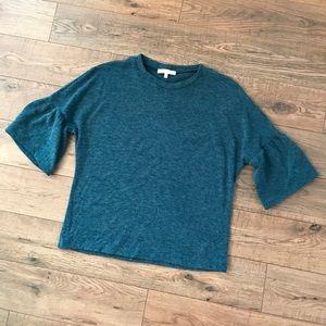 WAYF Bell Sleeve Sweater