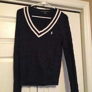 Preppy Ralph Lauren Navy Sweater