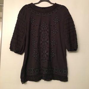 Free People New Romantics Sweatshirt Tunic