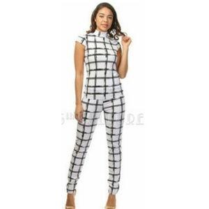 Checkered Print Set