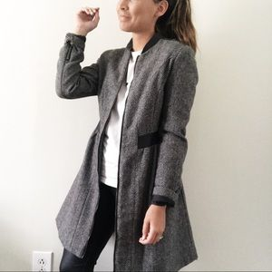 Perfect Zipper Coat