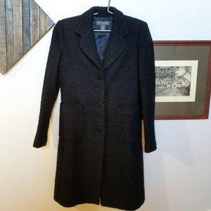 "Banana Republic Wool ""Tweed"" Coat"