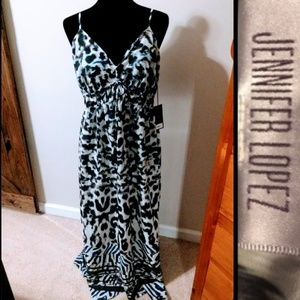 NWT Jennifer López Maxi Dress, Size L