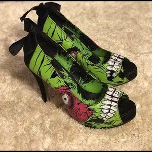 Too Fast Zombie heels