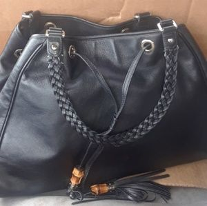 Authentic Gucci Peggy Bamboo Soho Tassel Bag
