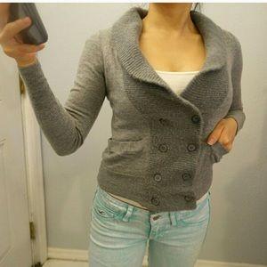 J crew peacoat sweater