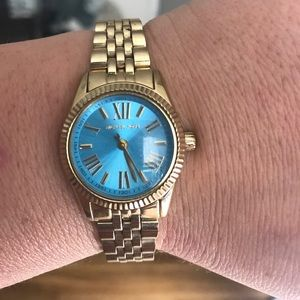 Micheal Kors Lexington women's turquoise watch