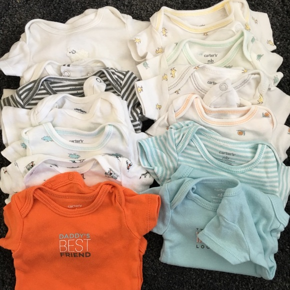 Infant /& Toddler Boys Carter/'s Assorted Short Sleeved Swim Shirts Size 9mo 3T