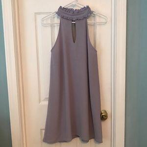 A-Line Lilac Dress