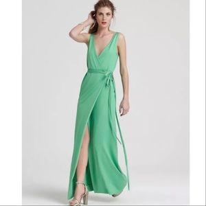 Diane Von Furstenberg easy straight maxi wrap dres