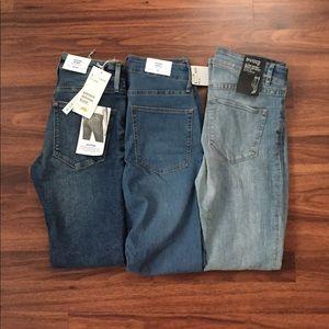NWT 3 set of H&M skinny jeans