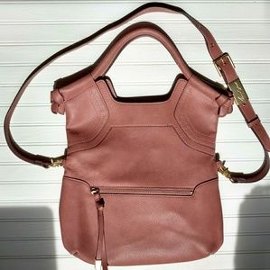 Foley & Corinna City Tote purse in pink blush