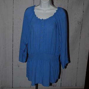 Lane Bryant 18/20 Long sleeve tunic blouse
