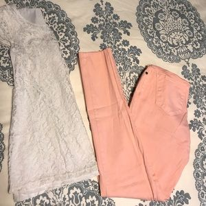 Motherhood Maternity Pink Pants