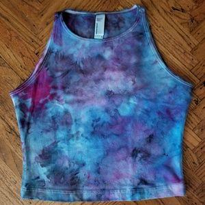 Tie Dye Crop Tank- Small