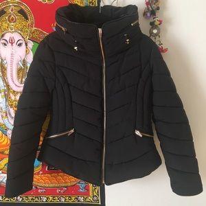 Zara black winter jacket