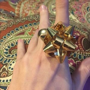 ♠️ Kate spade Christmas bow ring