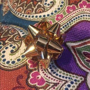 ♠️ Kate spade Christmas bow ring