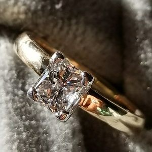 Jewelry - 1ct Princess Cut Diamond Ring