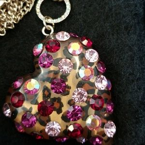Betsey Johnson necklace & earring set