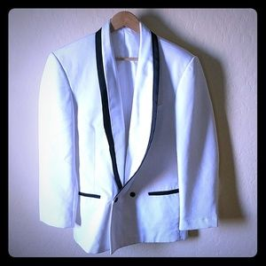 Other - White Tuxedo Jacket