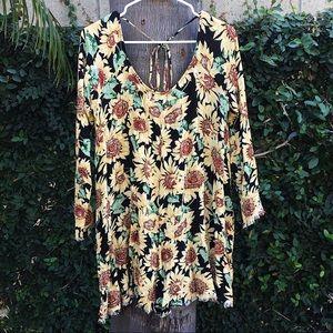 Urban Outfitters Somedays Lovin' Sunflower Dress