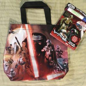 Star Wars mini tote bag set