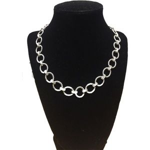 Macy's Silver Tone Necklace - NWOT
