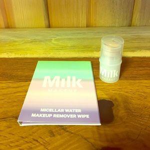 MILK BLUR STICK DELUXE SAMPLE &makeup remover wipe