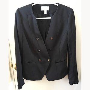 H&M black chic blazer