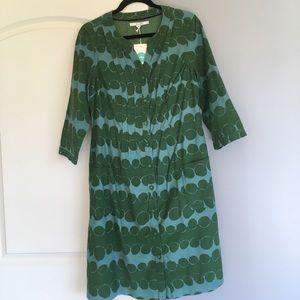Boden Corduroy Dress 10 long