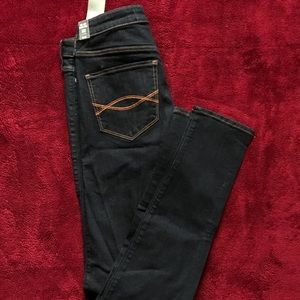 Abercrombie&fitch high rise jean