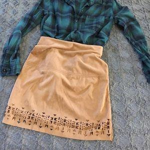 Cutout design skirt