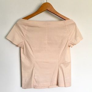 COS Tops - ❌ COS Off Shoulder Light Pink Minimalist Top