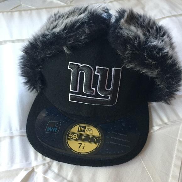New York Giants trapper flat bill hat. M 59e658514e8d17c256050d2d. Other  Accessories ... bc3346504