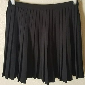 Black American Apparel Pleated Skirt