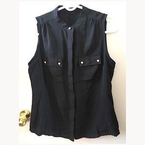 Zara work blouse
